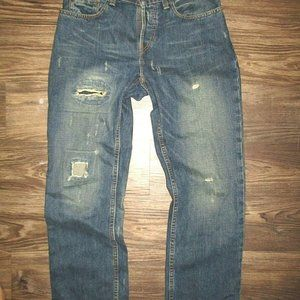 Mens EAST / WEST 30 x 30  Button fly Jeans